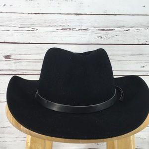 Black Vintage Cowboy Hat